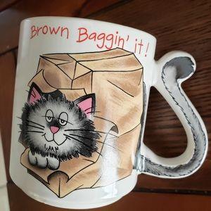 Vintage Cat Lovers Mug